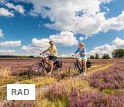 Radfahrer | © Lüneburger Heide GmbH / Dominik Ketz