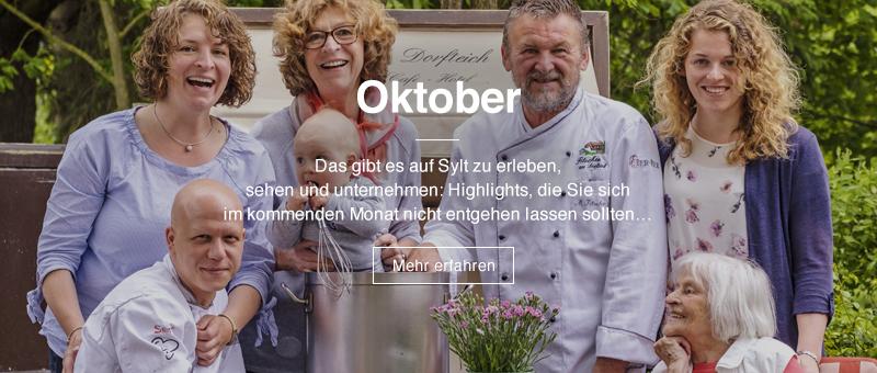 Highlights im September | Das gibt es im September auf Sylt zu erleben, sehen und unternehmen: Highlights, die Sie sich im kommenden Monat nicht entgehen lassen sollten… | Mehr erfahren