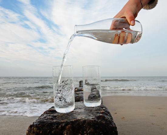 Refill Radweg auf Sylt: Hier können Sie Trinkwasser nachfüllen.