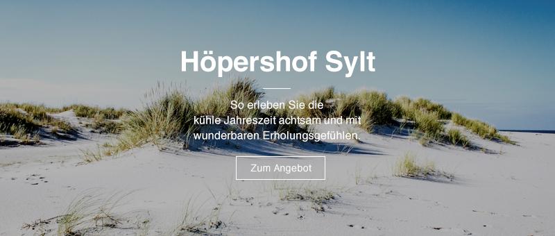 Höpershof Sylt I Achtsam in den Herbst