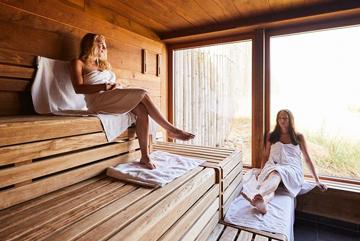 Sauna in der Sylter Welle
